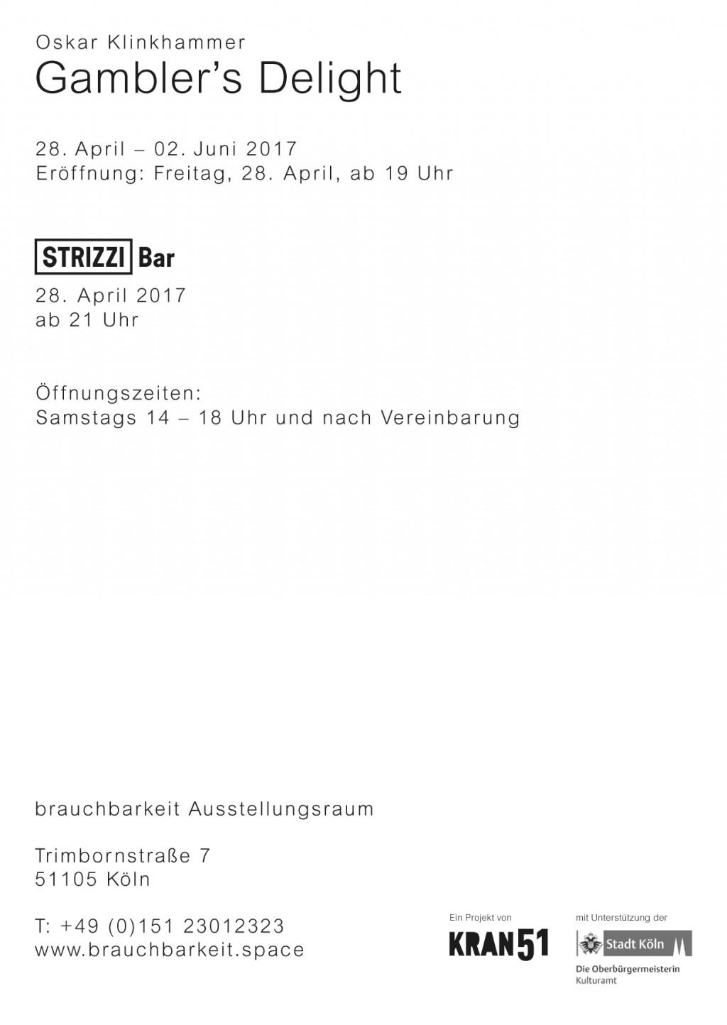 Oskar Klinkhammer News